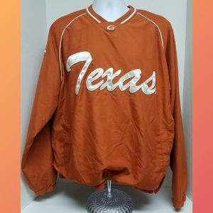 58 Sports Texas Longhorns Pull over Jacket Size L